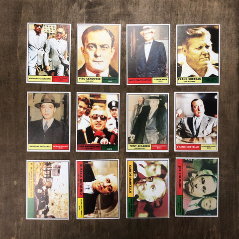 Omerta 1961 Gangster Card Set