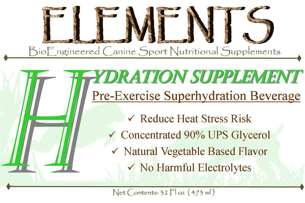 Elements H Pre-exercise Hydration Beverage