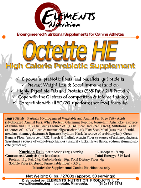 Octette HE High Energy Prebiotic Gut Health Supplement