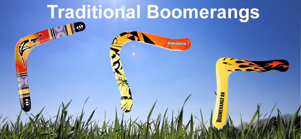 Traditional Boomerangs