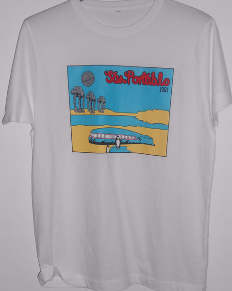 3rd Edition San Portablo T-shirt In White