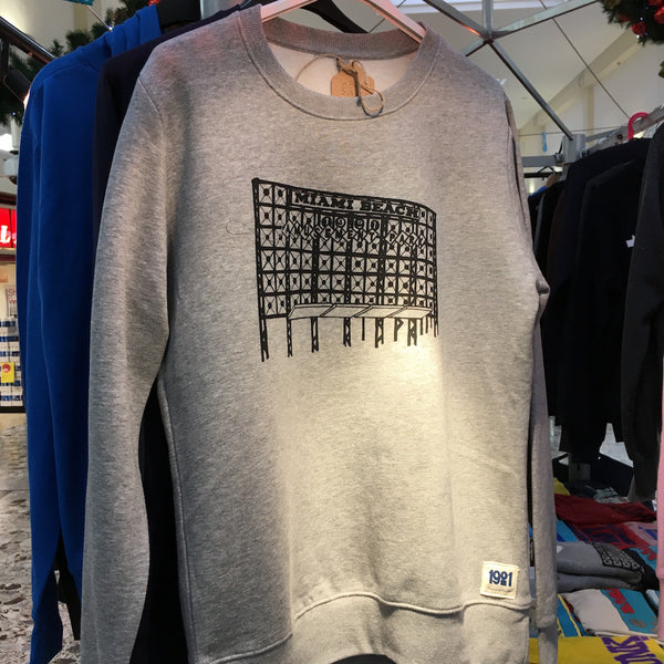 MIAMI BEACH GREY SWEATSHIRT