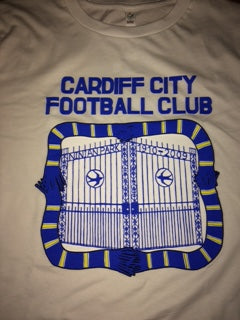 CARDIFF CITY FOOTBALL CLUB T-shirt in White