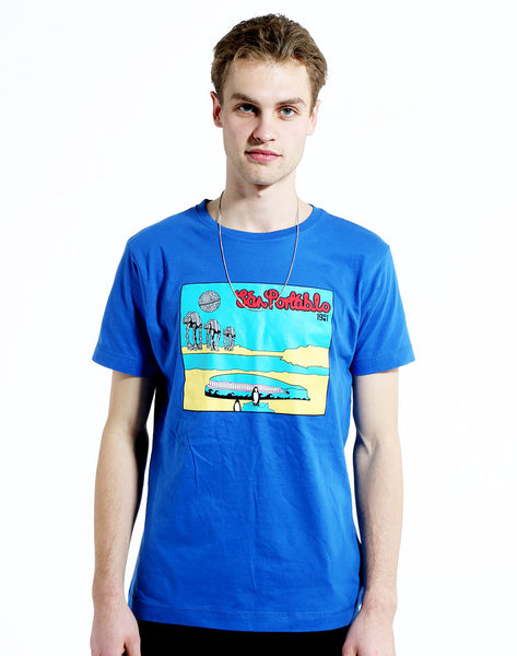 San Portablo 1901 T-shirt in Blue