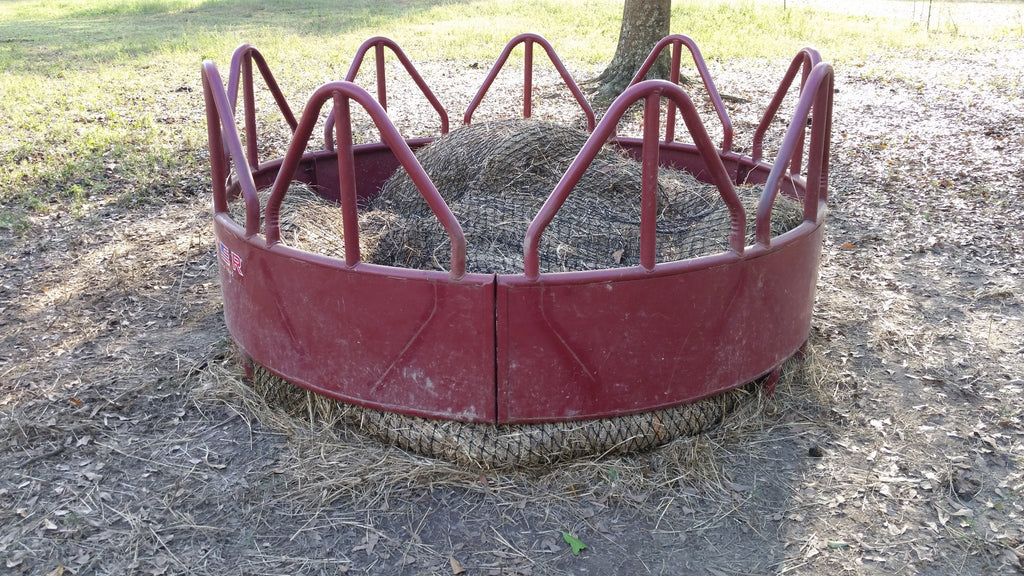Round Bale Hay Net Review by Mid-South Horse Review