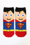 Justice League Superhero 5-Pack Low Cut Socks