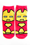 Marvel Characters 5-Pack Low Cut Socks