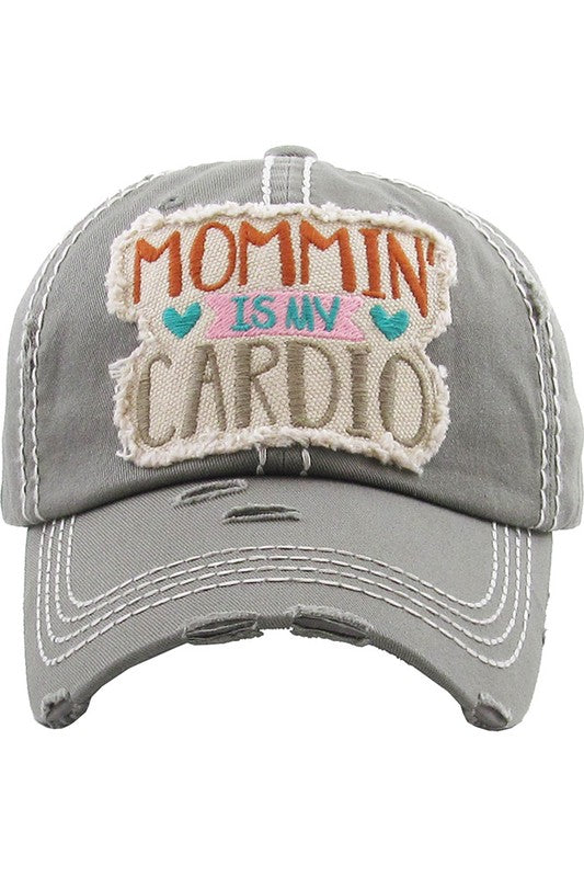 """Mommin"" Is My Cardio"