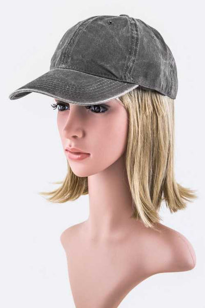 Fashion Washed Cotton Cap