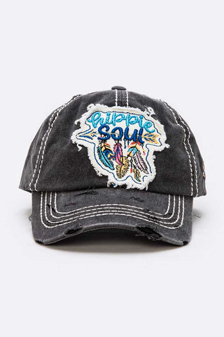Hippie Soul Vintage Cotton Cap