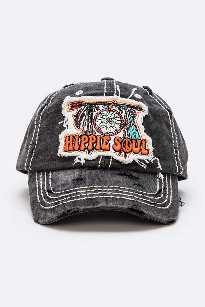 Hippie Soul Vintage Distressed Cap