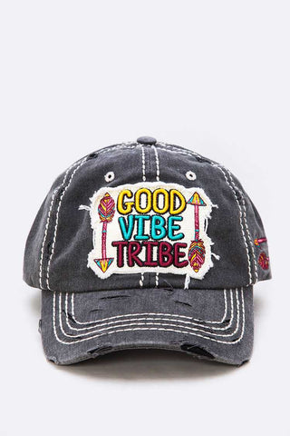 Good Vibe Tribe Iconic Cotton Cap