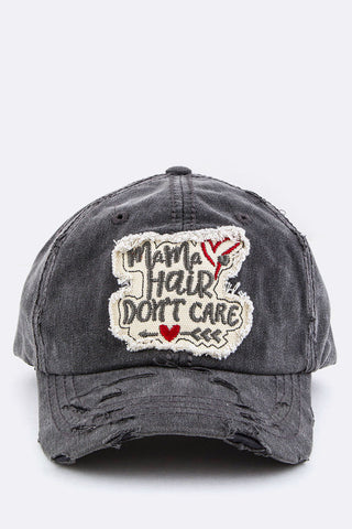 MaMa Hair Don't Care Cotton Cap