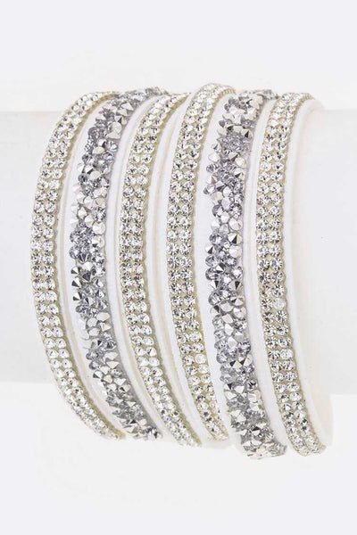 Crystal Layer Wrapped Cuff
