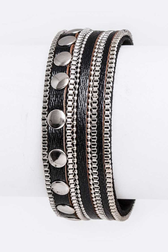 Mix Studs Magnetic Cuff