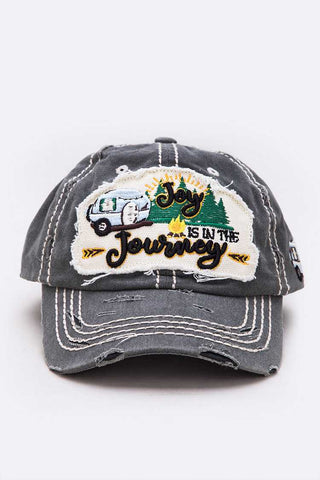 Joy Is In The Journey Cotton Cap