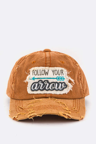 Follow Your Arrow Cotton Cap