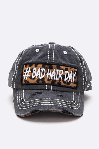 Bad Hair Day Patch Vintage Cap