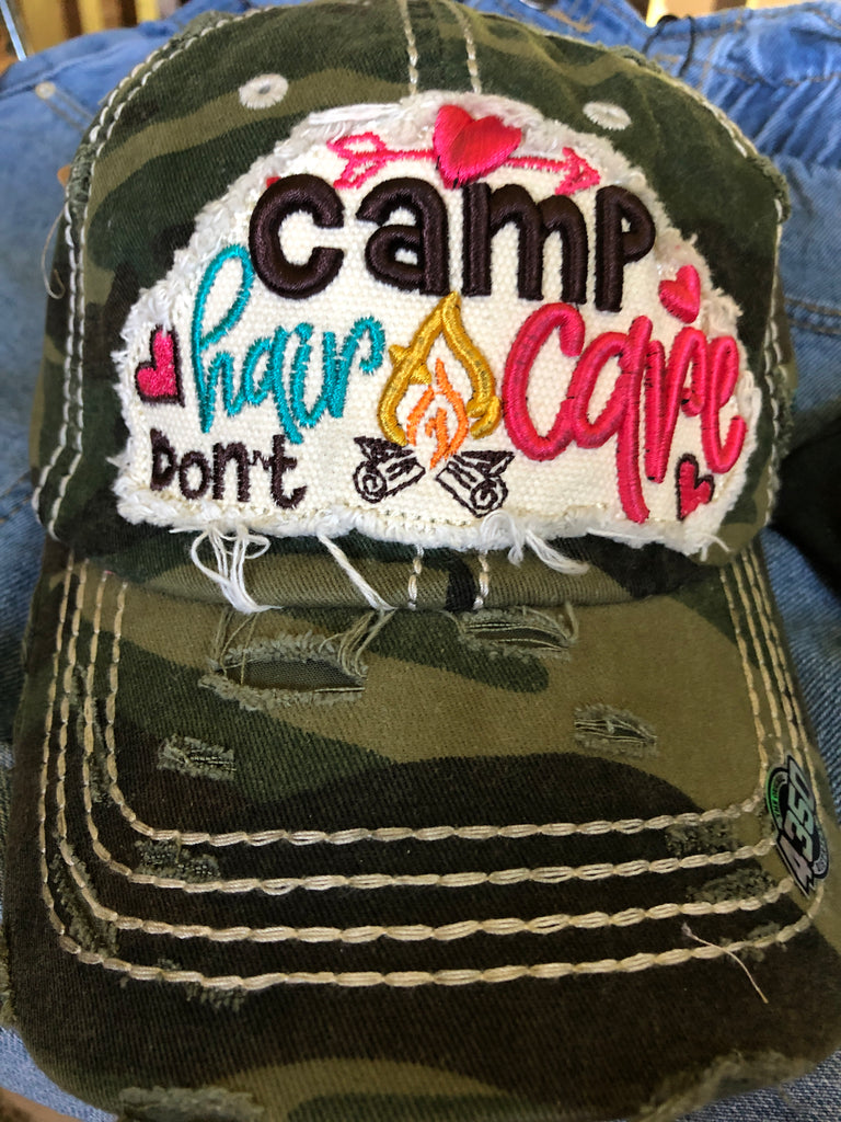 Camp Hair Don't Care Cotton Cap
