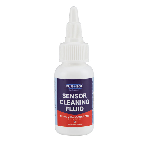 Purosol Sensor Cleaning Kit w/ Air Pro, Small Cloth - Purosol Professional Lens and Screen Cleaner