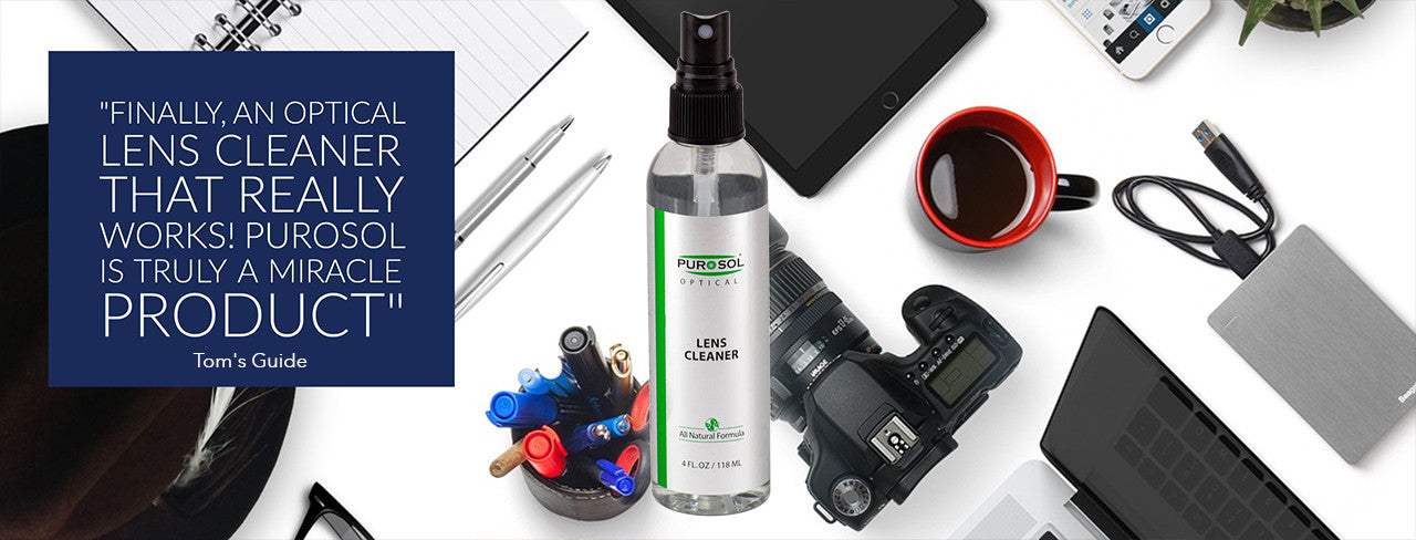 We make the world's best lens, sensor, and screen cleaners.