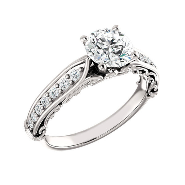 Jewels By Royal - Round Cut Engagement Ring (RDENG10015120201)