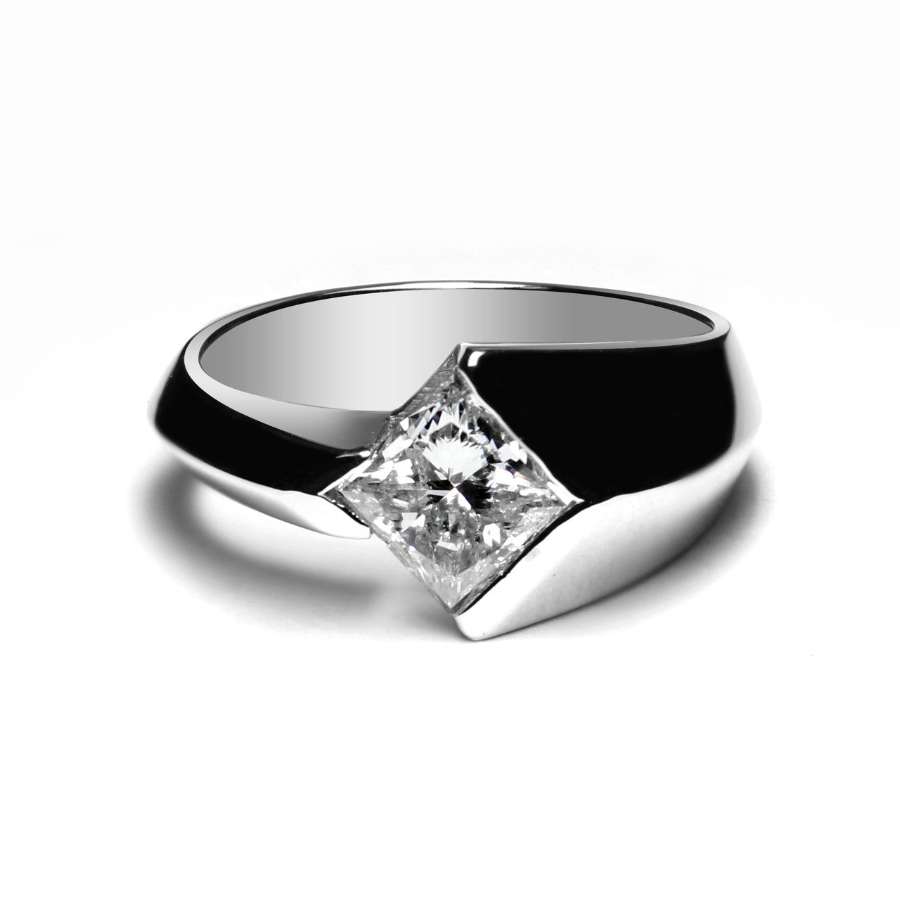 Jewels By Royal - Princess Cut Diamond Engagement Ring