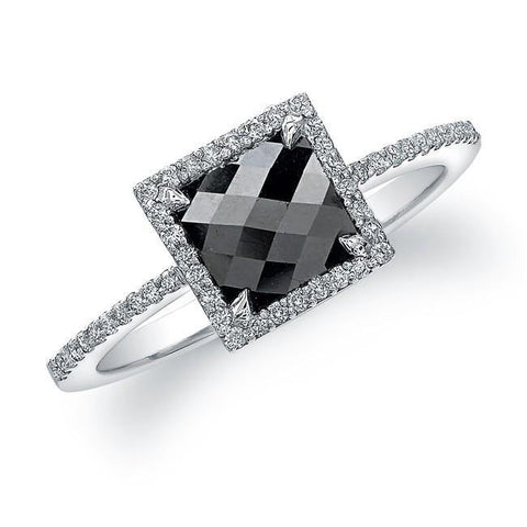 Jewels By Royal - Black Diamond Engagement Ring (22944BKRC)