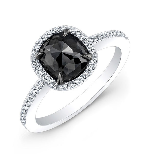 Jewels By Royal - Black Diamond Engagement Ring (28464BKRC)