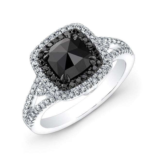 Jewels By Royal - Black Diamond Engagement Ring (28578BKRC)