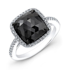 Jewels By Royal - Black Diamond Engagement Ring (28681BKRC)