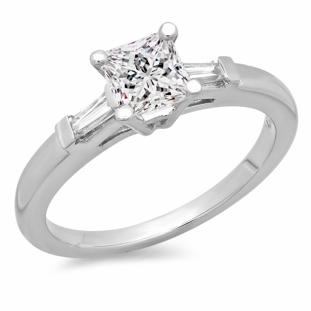Jewels By Royal - Princess Cut Engagement Ring (PM78742PR)