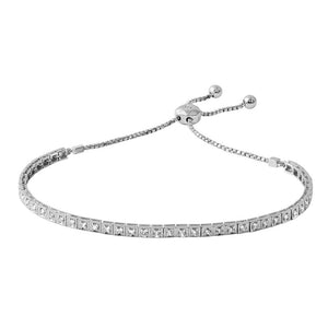 Jewels By Royal - Tennis Bracelet w/ Box Chain Links (PM114027)