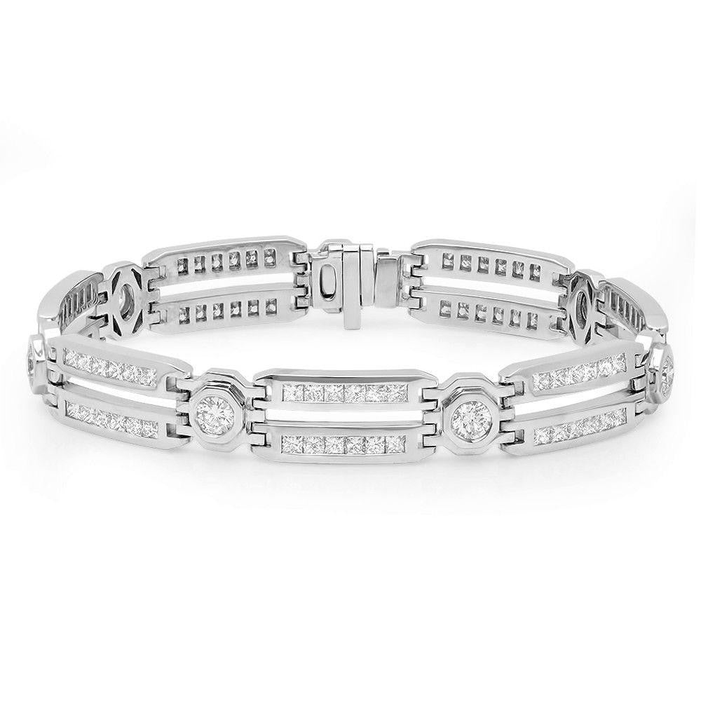 Jewels By Royal - Men's Diamond Bracelet (PM82056)