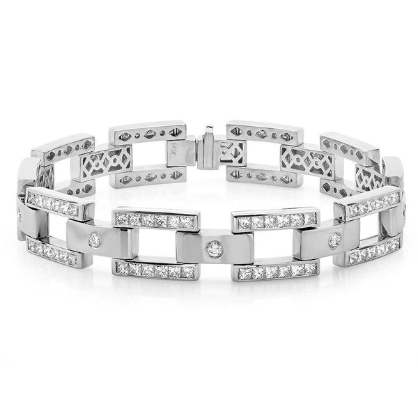 Jewels By Royal - Men's Diamond Bracelet (PM82058)