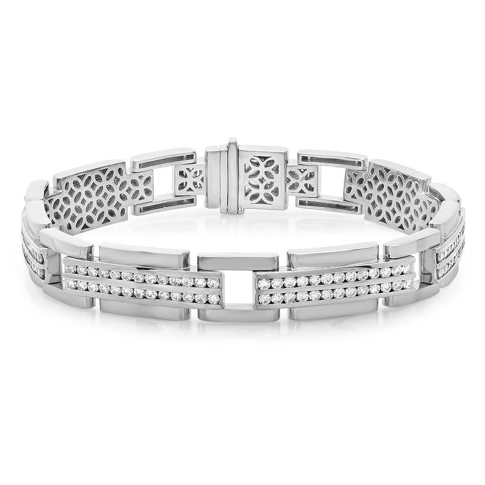 Jewels By Royal - Men's Diamond Bracelet (PM82057)
