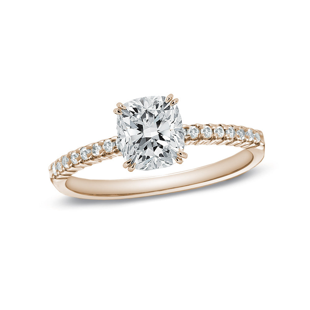 Jewels By Royal - Cushion Cut Diamond Engagement Ring (CU15032305050)