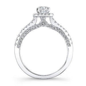 Jewels By Royal - Cushion Cut Diamond Bridal Set (BS00010)