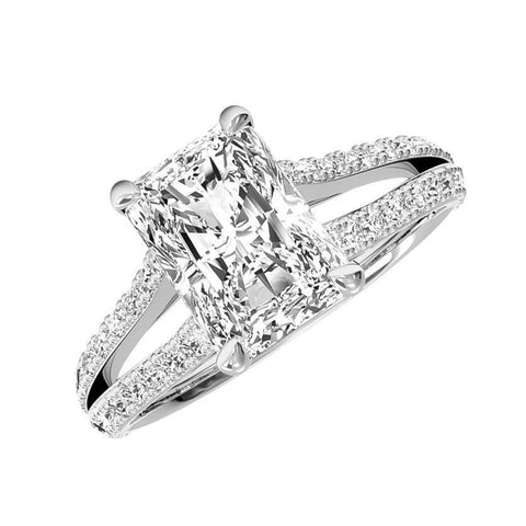 Jewels By Royal - Radiant Cut Diamond Engagement Ring