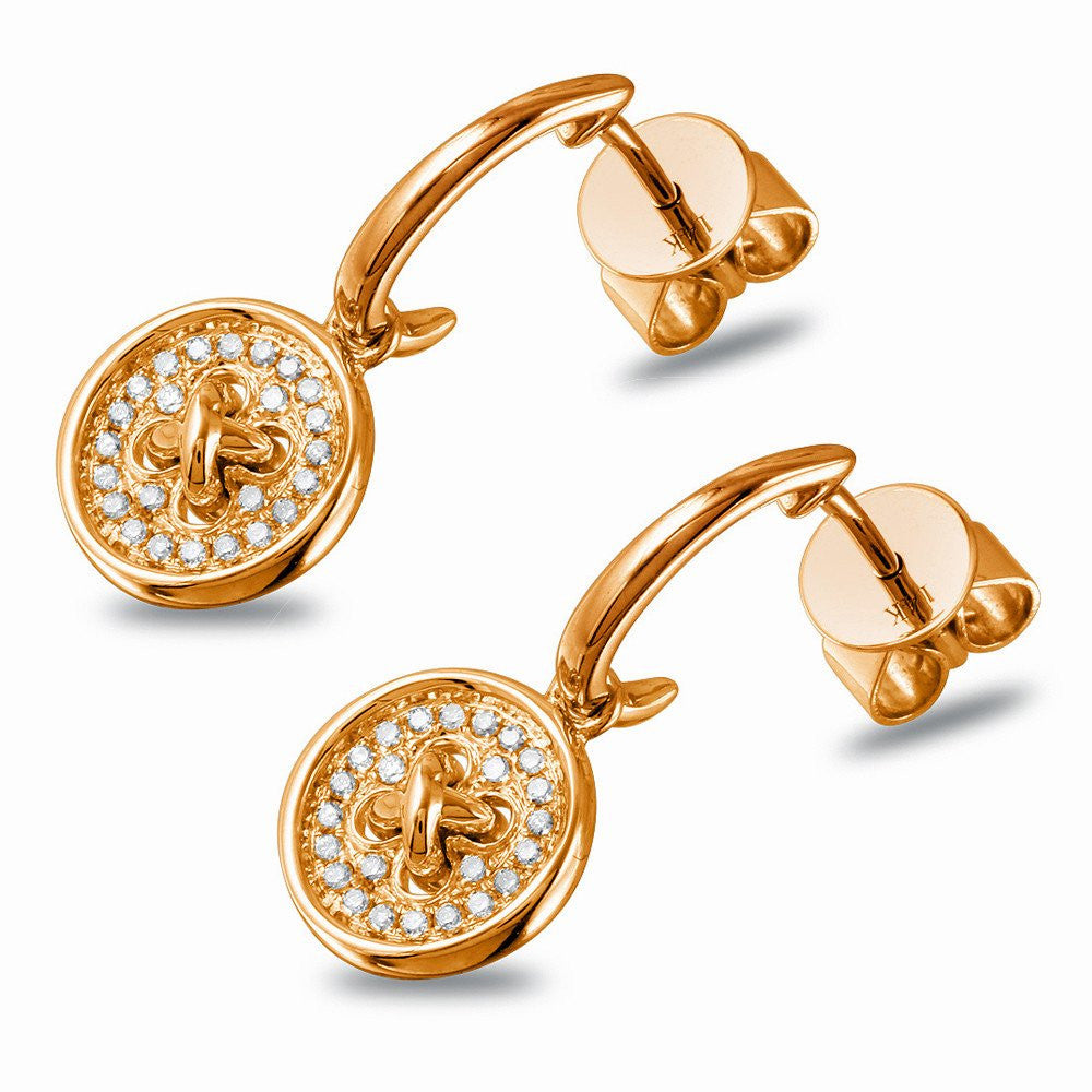 Jewels By Royal - Fancy Button Diamond Earrings (PMI103820)