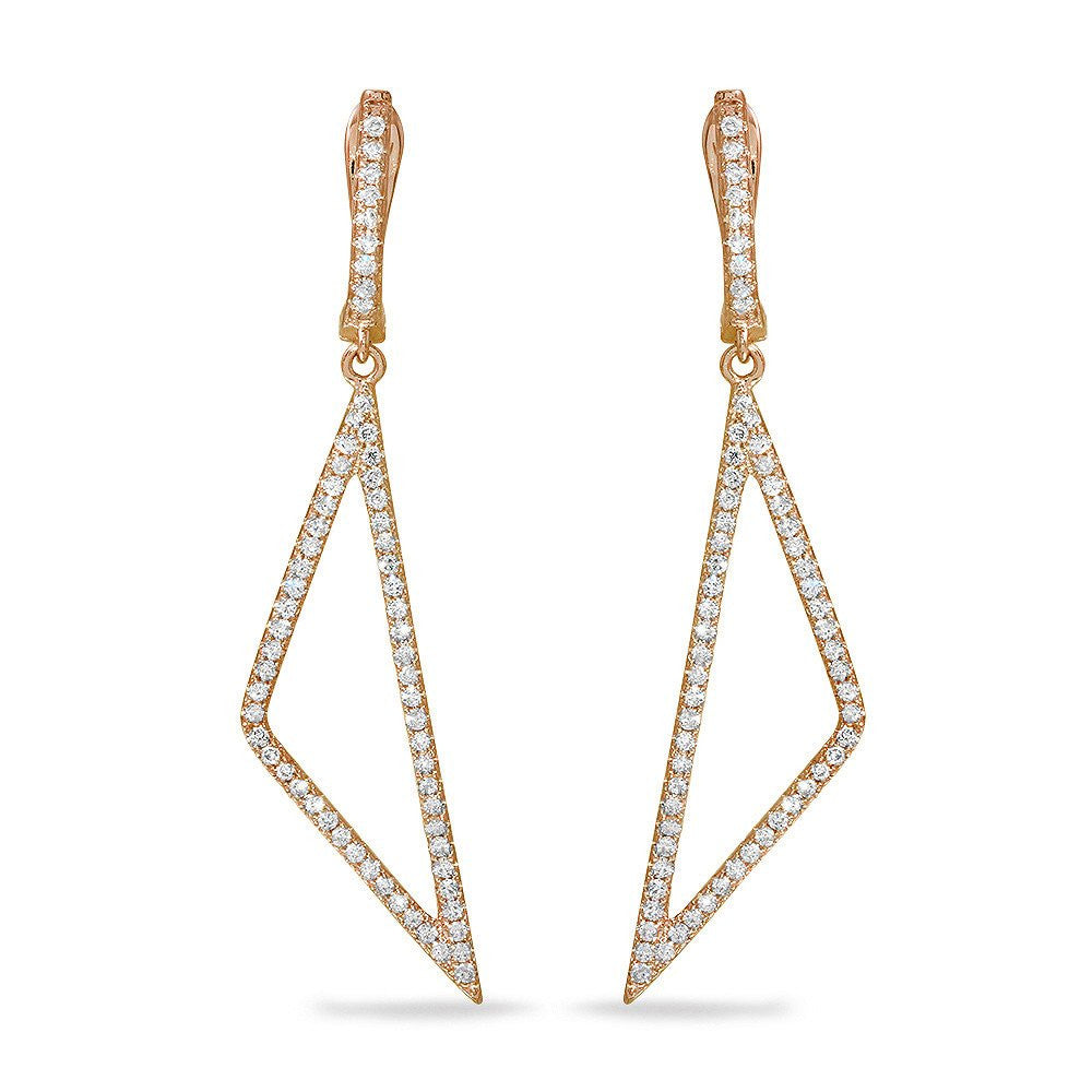 Jewels By Royal - Fancy Earrings w/ Diamonds (PMI107588)
