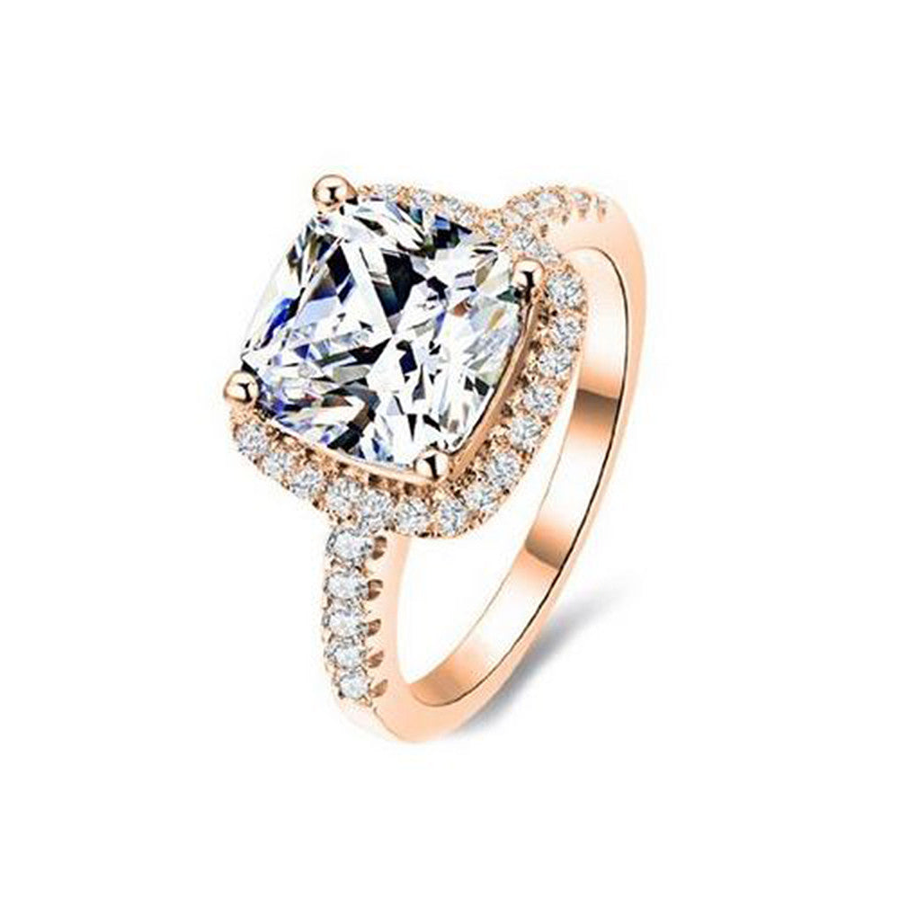 Jewels By Royal - Cushion Cut Diamond Engagement Ring