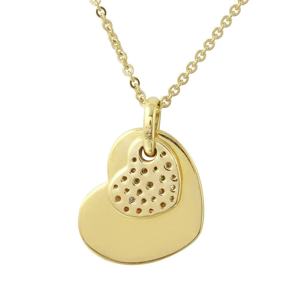 Jewels By Royal - Heart Pendant w/ Necklace (PMI103770)