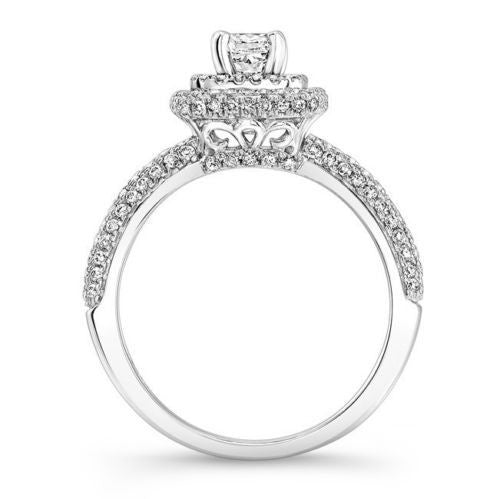 Jewels By Royal - Princess Cut Diamond Engagement Ring (PRENG09070)