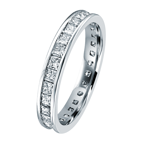 Clarrence in 14K White Gold