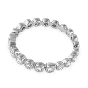 Jewels By Royal - Round Cut Stackable Eternity Band (PMI108211)