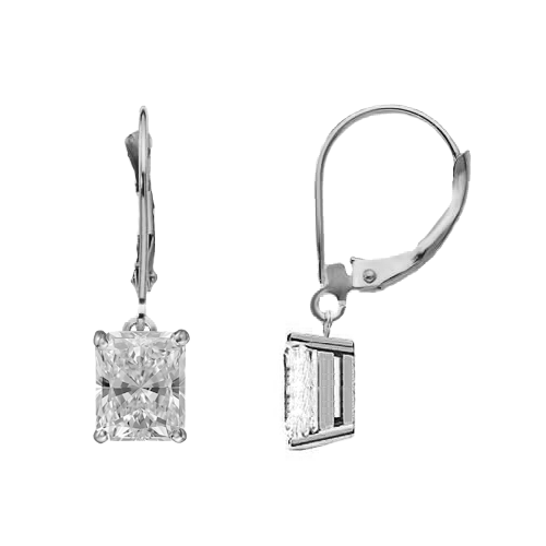 Eternity Diamond Rings - Radiant Cut Diamond Dangle Earrings (RADG050CT-851)