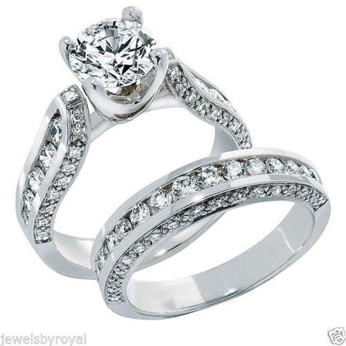 Jewels By Royal - Round Cut Diamond Bridal Set (RDBS05100)