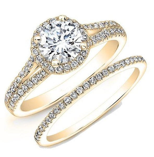 Jewels By Royal - Round Cut Diamond Bridal Ring Set (RDBS05015102301)