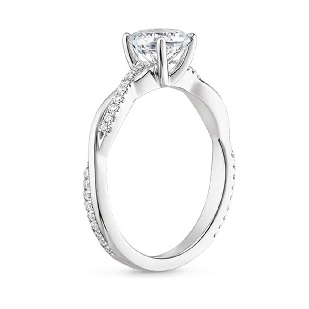 Jewels By Royal - Round Cut Diamond Engagement Ring (RDENG01)